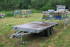 платформы для перевозки пчёл
