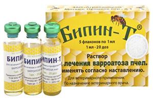 акарапидоз пчел лечение бипин