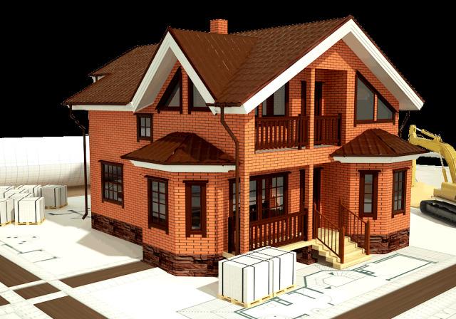 Кирпичный дом: этапы строительства