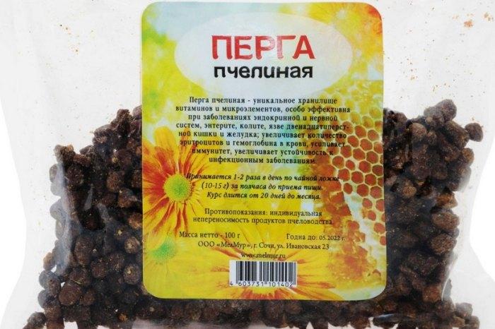 пчелиная перга лечебные свойства