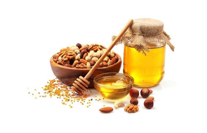грецкий орех и мед