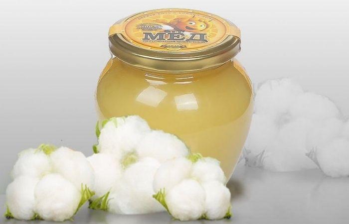 мед белого цвета