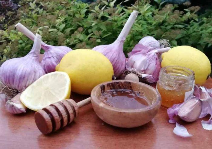 мед чеснок лимоны рецепт