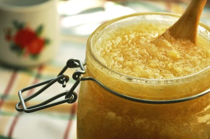 лимон мед чеснок
